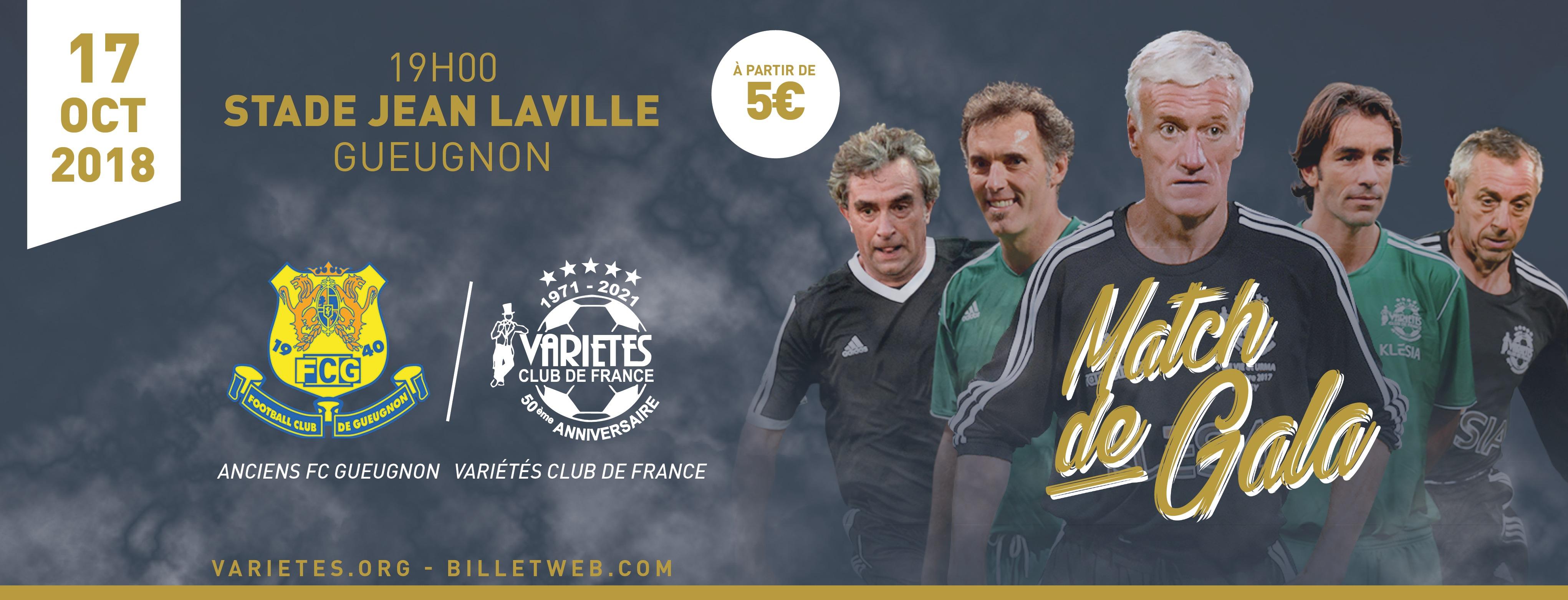 VCF - Bandeau Match Gueugnon indd
